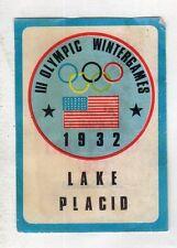 figurina CAMPIONI DELLO SPORT 1968-69 -REC- SCUDETTO 1932 LAKE PLACID