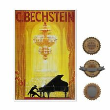 "13""×19"" Decorative Art Poster: GRAND PIANO PERFORMANCE Classical Music Bechstein"