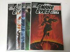 Alternative comic lot GI Joe Snake Eyes agent of cobra 1-5 NM Bagged Boarded