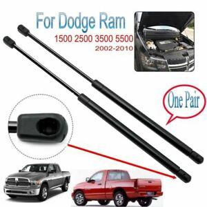 For Dodge Ram 1500 2500 3500 5500 2002-10 Front Hood Lift Supports Shock Struts