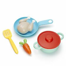 Simmer Saute Set Toy Kids 6 Piece Play Set Dishes Food Pretend Toddler Fun New