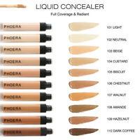 PHOERA Concealer Liquid Moisturizer Conceal HD High Definition Foundation Makeup