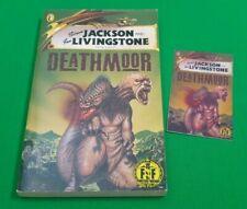 Deathmoor ***VGC 1st EDITION!!*** Fighting Fantasy Steve Jackson Puffin #1