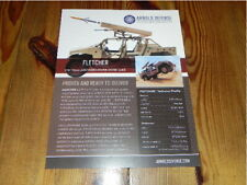 Arnold Defence FLETCHER Vehicles Military brochure prospekt catalogue