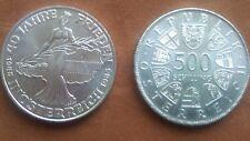 40 Jahre Frieden in Österreich   500,00 Schilling Silber  1985