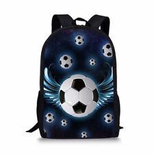 Cool Wings Football Backpack Boys School Bookbags Mens Laptop Sport Rucksack New