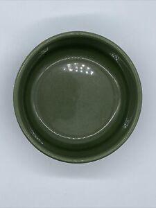 "VINTAGE FIESTA INDIVIDUAL SALAD BOWL Rare Dark GREEN 6"" FIESTAWARE EXC!"