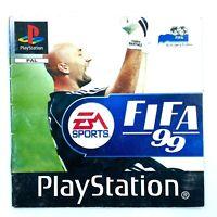 Notice du jeu seule : FIFA 99 - Playstation 1 / PS1 - EA Sports - PAL