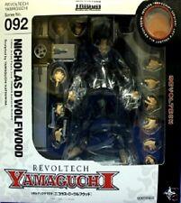 Used Revoltech Yamaguchi 092 Trigun Nicholas D Wolfwood painted Kaiyodo