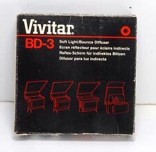 Vivitar BD-3 Bounce Flash Diffuser for 4000 and 5000-Series Flashes New In Box