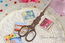 FREE SHIPPING - Antique Vintage Style Stainless Steel Blade Scissor - BUILDING