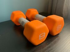 Pair of 8 lb CAP Neoprene Coated Dumbbells (16 lb total) - SDN5008