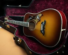 2018 Gibson Ltd Custom Doves in Flight Acoustic Guitar Carmel Mint OHSC  *850