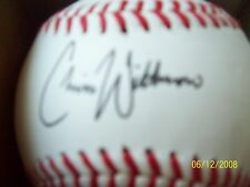 CHRIS WITHROW AUTOGRAPHED OFFICIAL MIDWESTLEAGUE BASEBALL