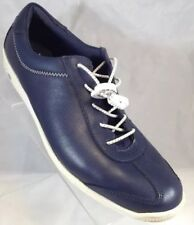 New Balance 2A Navy Blue Leather Sneakers Womens Sz 10 Eur 41.5