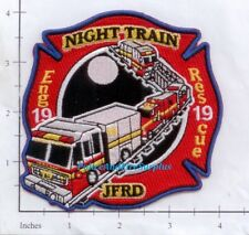 Florida - Jacksonville Station 19 FL Fire Dept Fire Patch v1  Night Train