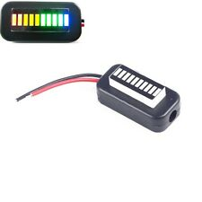 3-30V Adjustable Voltmeter Multicolor Led Display Panel Lithium Battery  NEW TOP