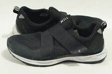 TIEM Women's 9.5 Black Slipstream Slip On Mesh Cycling Shoes includes cleats!