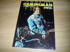 Gemini Man Annual 1977 authorised edition - UK HB book TV tie-in VG-EX condition