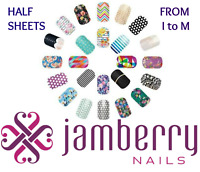 jamberry half sheets * I to M * buy 3+ get 15% off sale ~ NEW STOCK !!  🎁