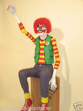 Waving Animated Chuckles the Clown Halloween Prop Parties Events Scary Funny