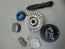 LAMBRETTA 12V ELECTRONIC IGNITION KIT GP DL NEW K2 STATOR SIL FREE LOOM & EXTRAS