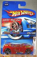 2006 Hot Wheels #35 First Editions 35/38 Faster Than Ever MEGA THRUST Orange