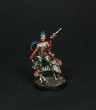 Figurine Compatible Warhammer 40K Inquisitrice Alicia von Gaut METAL