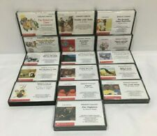 Lot of 16 Vintage Scholastic Cassettes Kids Story Books  (Some new!!)