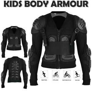 Body Armour Motorbike Motorcycle Adult Motocross Chest Spine Protective Jacket