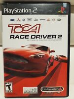 ToCA Race Driver 2: The Ultimate Racing Simulator (Sony PlayStation 2, 2004) PS2