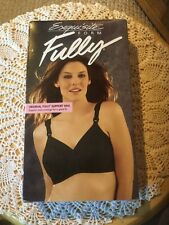 Exquisite Form Fully.  Original Fully Support Bra.  Black.  Size 38C.  510-0532