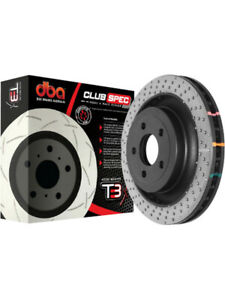 2 x DBA Cross Drilled & Dimpled Rotor FOR DODGE D200 SERIES (DBA52778BLKXD)