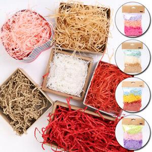 1 Bag Colorful Displays Gift Box DIY Paper Raffia Shredded Filling Decor
