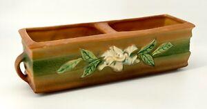 Roseville - Gardenia - Window Box - 669-12 - Browns and Green