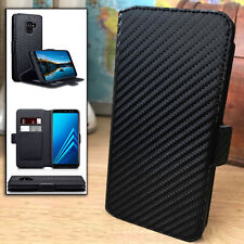 LX™ Low Profile Carbon  Flip Cover Black Book Case SAMSUNG GALAXY A71