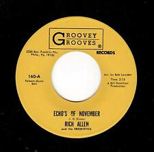PHILLY DOOWOP/SOUL-RICH ALLEN & THE EBONISTICS-GROOVEY GROOVES 160-ECHOES OF NOV