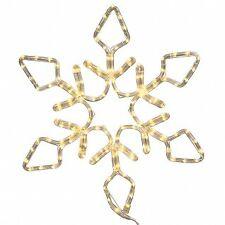 Vickerman X106148 48 in. Led 286Lt PureWht Diamond Snowflake