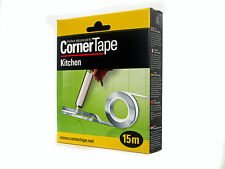 Corner Tape 15m perfect silicone sealant for bathroom Kitchen and shower S 4mm