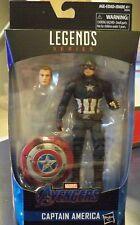 Marvel legends Series Captain America endgame worthy Thor's Hammer included