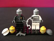Lego Zombies Walking Dead Police Officer & Criminal Set of 2