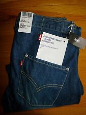 "BNWT MEN'S LEVIS TWISTED,ENGINEERED,'COMFORT FIT AGED' ,TYPE 3 JEANS. W28"" L32""."