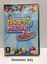 BUST A MOVE ONLINE PUZZLE BOBBLE (PC) VIDEOGIOCO NUOVO NEW GAME VIDEOGAMES