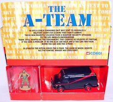"Corgi Toys 1:43 ""THE A-TEAM"" BA BARACUS GMC VAN TV Movie Model Car 87502 MIB`01!"