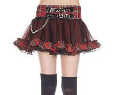 New Plaid Petticoat With Plaid Trim By Music Legs School Girl 717 Costumania