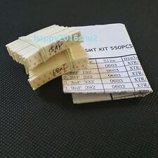 0603 SMD SMT Chip Capacitor Assortment kit 55 values total 550PCS 1pF~1uF