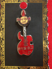 HRC Hard Rock Cafe Niagara Falls Red Rock Guitar 2011 LE300