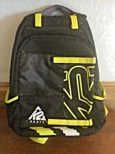 K2 F.I.T. Pack Nylon Skate Bag Backpack Case Black/ Red Laptop