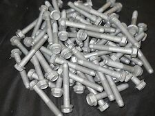 M12 12mm X 1.25 EXTRA FINE X 70mm THREAD  HEX HEAD FLANGE BOLT LOT OF 100 BOLTS