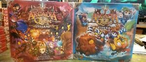 CoolMiniOrNot CMNAQ018 Arcadia Quest Inferno Game and Riders Expansion BNIB